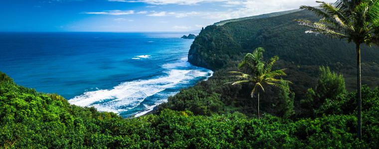northern coast of the big island